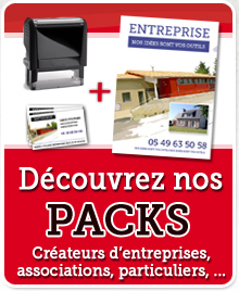 packs impression entreprises, pros, particuliers, associations, flyer, cartes, tampons